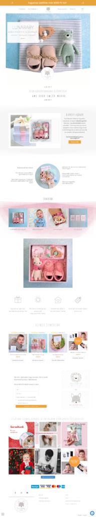 Lunababy ajándék küldő webáruház
